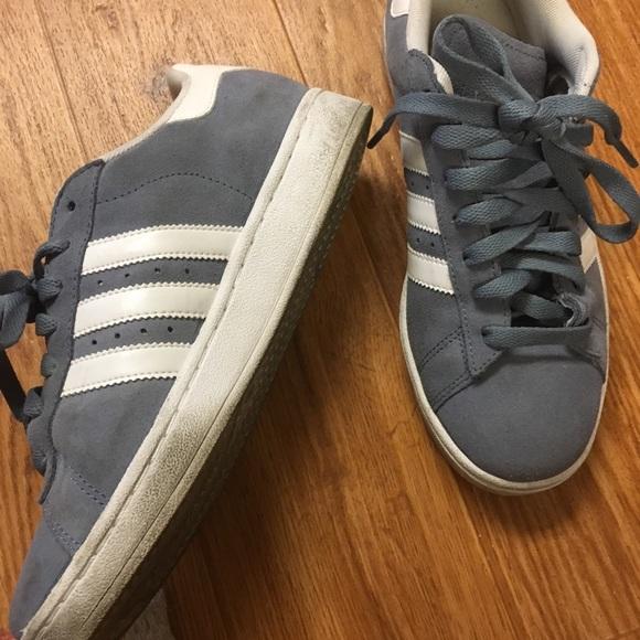 le adidas scamosciato campus scarpe poshmark